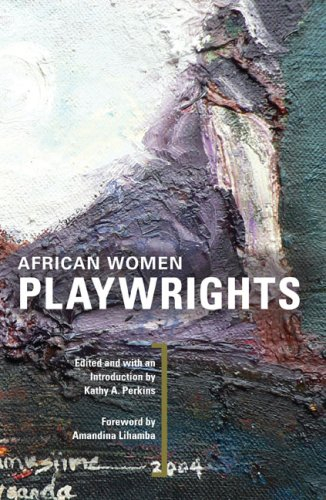 African Women Playwrights   2008 edition cover