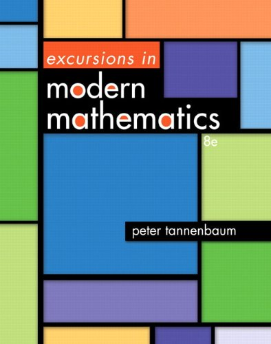 Excursions in Modern Mathematics  8th 2014 9780321825735 Front Cover