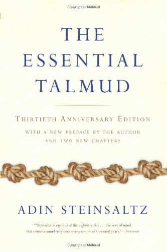 Essential Talmud  30th 2006 (Revised) 9780465082735 Front Cover