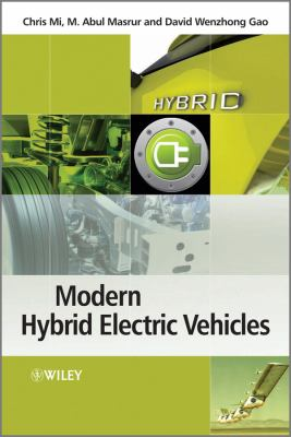 Hybrid Electric Vehicles Principles and Applications with Practical Perspectives  2011 edition cover