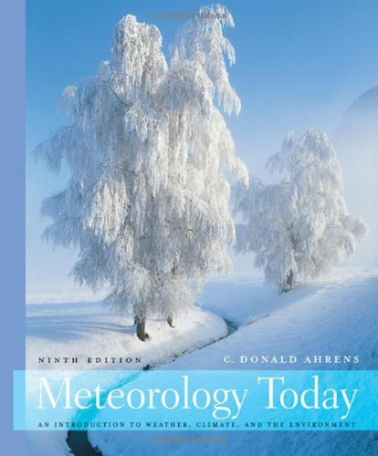 Meteorology Today  9th 2009 edition cover
