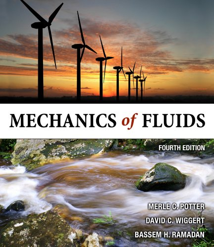 Mechanics of Fluids  4th 2012 edition cover