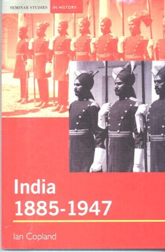 India 1885-1947 The Unmaking of an Empire  2001 edition cover