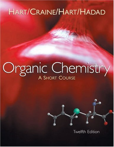 Organic Chemistry A Short Course 12th 2007 edition cover