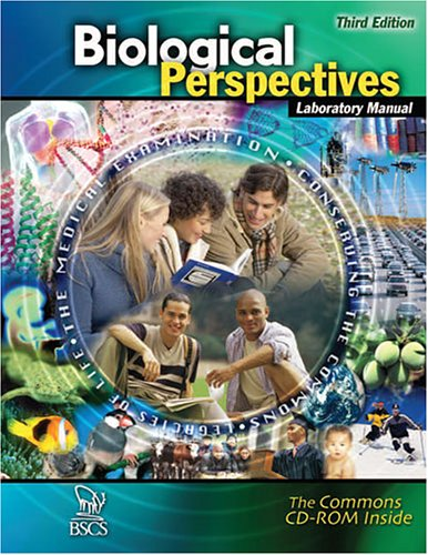 Biological Perspectives  3rd 2006 (Revised) 9780757525735 Front Cover