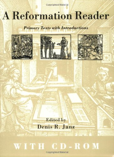 Reformation Reader Primary Text with Introductions  2002 edition cover
