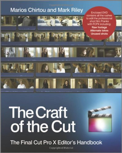 Craft of the Cut The Final Cut Pro X Editor's Handbook 2nd 2012 edition cover