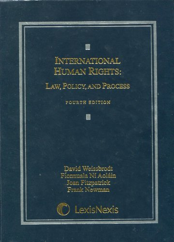 International Human Rights: Law, Policy, and Process  2009 edition cover