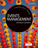 Events Management Principles and Practice 2nd 2013 edition cover