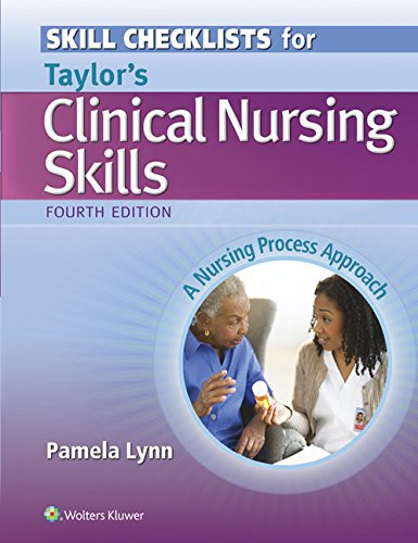 Clinical Nursing Skills Checklist  4th (Revised) edition cover