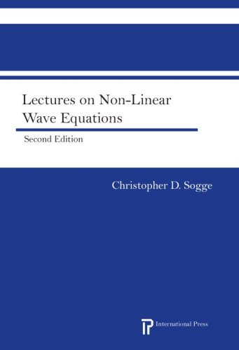 Lectures on Non-Linear Wave Equations:  2008 edition cover