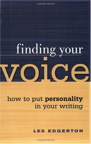 Finding Your Voice   2003 9781582971735 Front Cover
