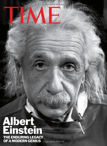 TIME Albert Einstein The Enduring Legacy of a Modern Genius  2011 9781603201735 Front Cover
