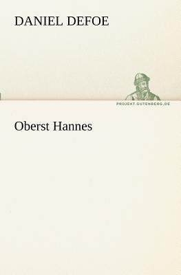 Oberst Hannes  N/A 9783842406735 Front Cover