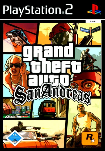 Grand Theft Auto: San Andreas PlayStation2 artwork