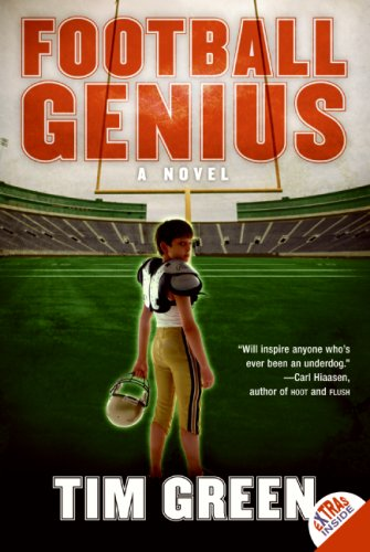 Football Genius  N/A 9780061122736 Front Cover