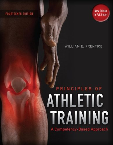 Principles of Athletic Training A Competency-Based Approach 14th 2011 edition cover