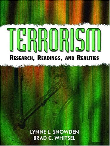 Terrorism Research, Readings and Realities  2005 edition cover