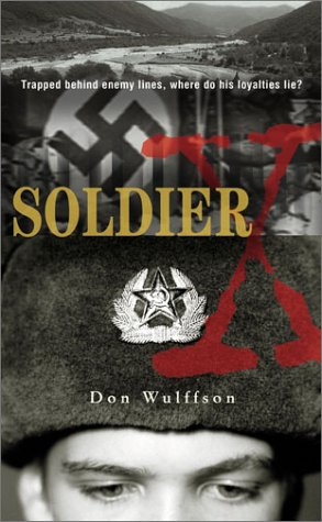 Soldier X   2003 edition cover