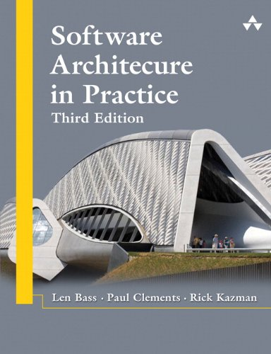 Software Architecture in Practice  3rd 2013 edition cover