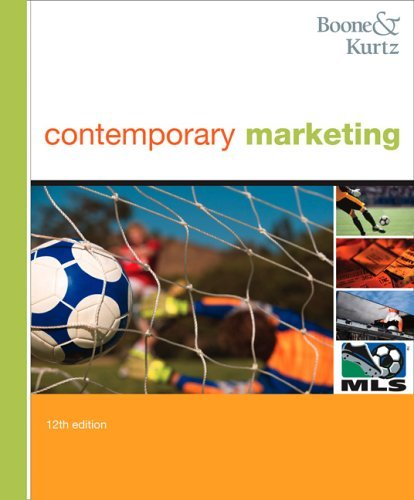 Contemporary Marketing 2009  12th 2006 9780324236736 Front Cover