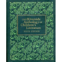 Riverside Anthology of Children's Literature  6th 1985 edition cover
