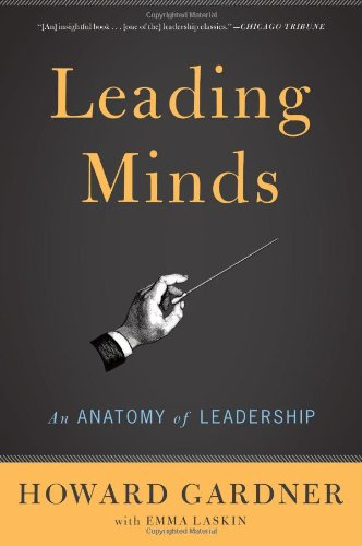 Leading Minds An Anatomy of Leadership 2nd edition cover
