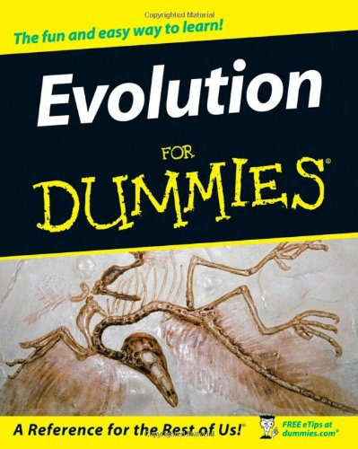 Evolution for Dummies   2008 edition cover
