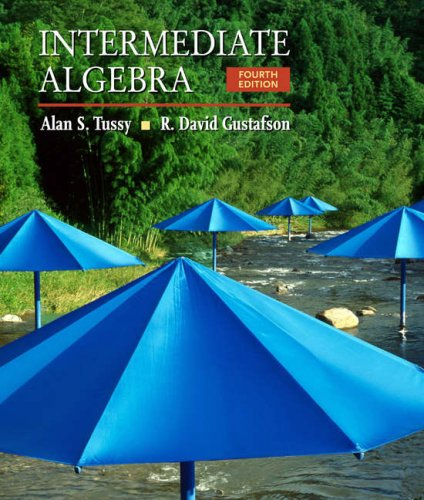 Intermediate Algebra  4th 2009 (Revised) edition cover
