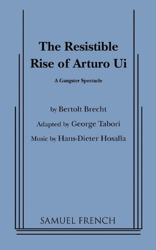 RESISTIBLE RISE OF SRTURO UI 1st edition cover