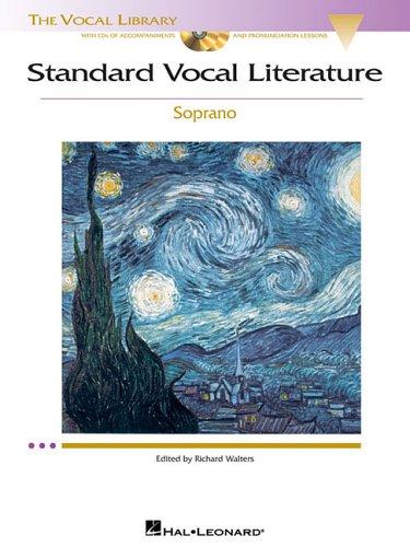 Standard Vocal Literature Soprano N/A edition cover