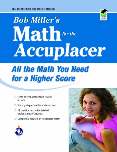 Bob Miller's Math for the Accuplacer  N/A edition cover