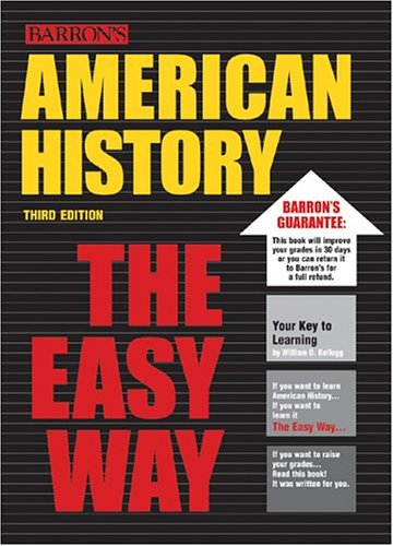 American History the Easy Way  3rd 2003 edition cover
