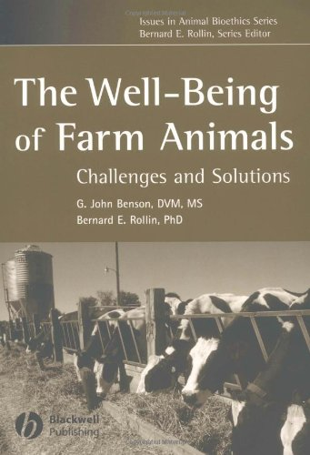 Well-Being of Farm Animals Challenges and Solutions  2004 edition cover