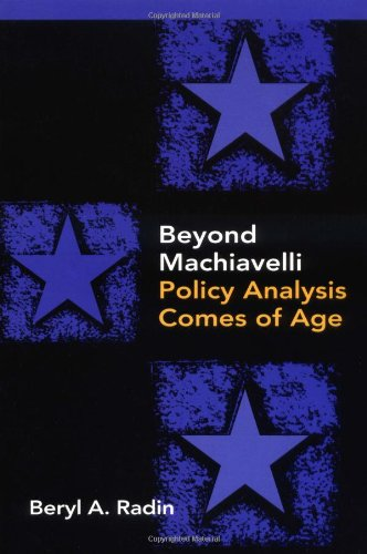 Beyond Machiavelli Policy Analysis Comes of Age  2000 edition cover