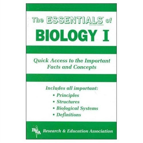 Biology I Essentials   1998 (Revised) edition cover