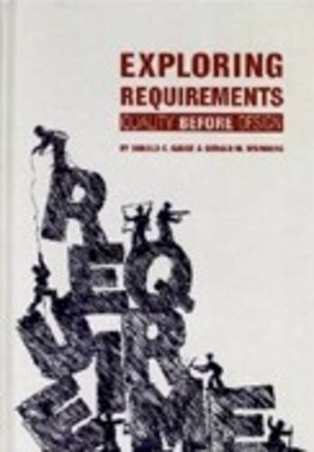Exploring Requirements: Quality Before Design, Paperback Edition   1989 edition cover