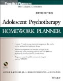 Adolescent Psychotherapy Homework Planner  5th 2014 edition cover