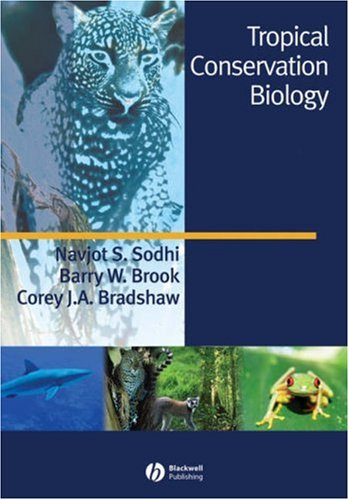 Tropical Conservation Biology   2007 edition cover