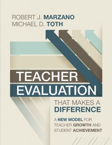 Teacher Evaluation That Makes a Difference A New Model for Teacher Growth and Student Achievement  2013 9781416615736 Front Cover