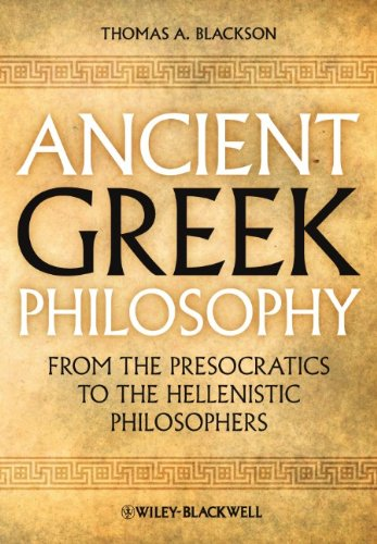 Ancient Greek Philosophy From the Presocratics to the Hellenistic Philosophers  2010 edition cover