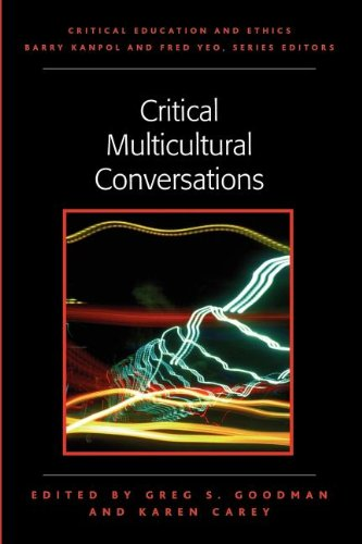 Critical Multicultural Conversations   2004 edition cover