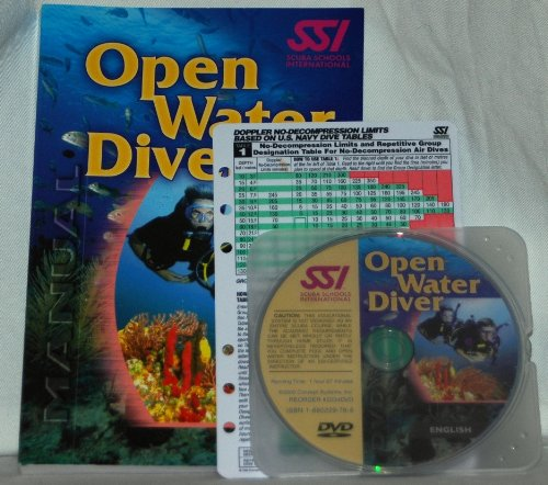 SSI Open Water Diver Manual   2002 edition cover