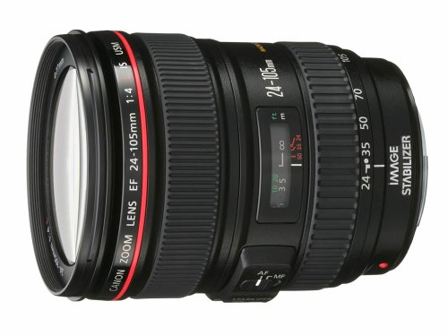 Canon EF 24-105mm f/4 L IS USM Lens for Canon EOS SLR Cameras product image