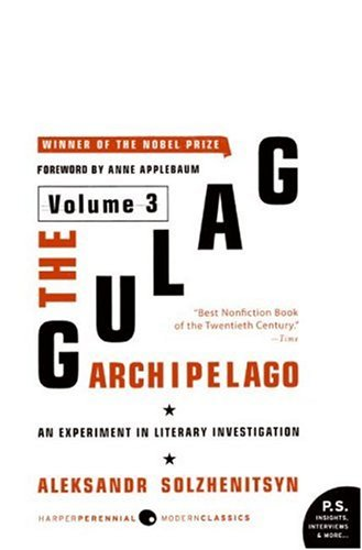 Gulag Archipelago, 1918-1956 An Experiment in Literary Investigation N/A edition cover