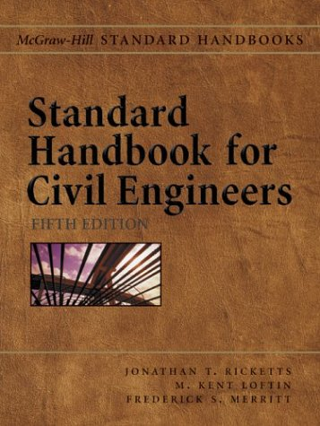 Standard Handbook for Civil Engineers  5th 2004 (Revised) 9780071364737 Front Cover