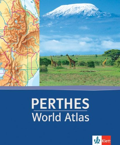 Perthes World Atlas   2007 edition cover