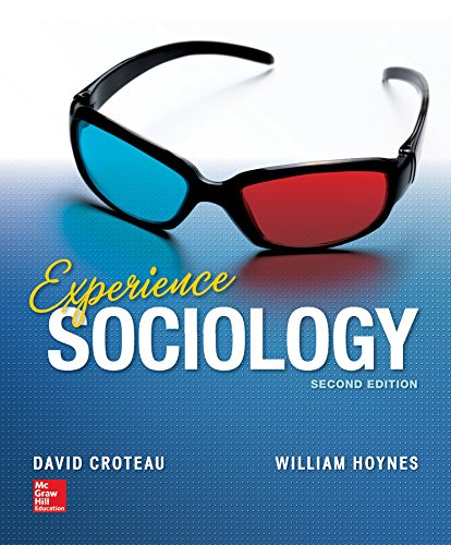 Experience Sociology  2nd 2015 9780078026737 Front Cover
