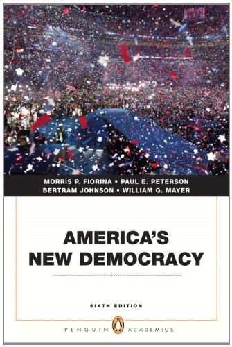 America's New Democracy  6th 2011 (Revised) edition cover