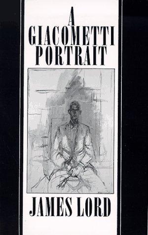 Giacometti Portrait  Revised edition cover